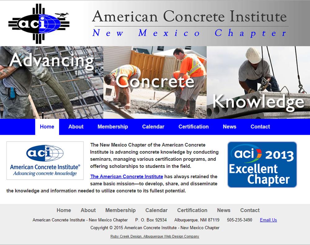 Ruby Creek Website Design Albuquerque Web Designer