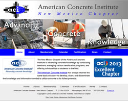 American Concrete Institute New Mexico Chapter
